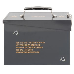 Kids Army Style Ammo Can MSRP $14.95